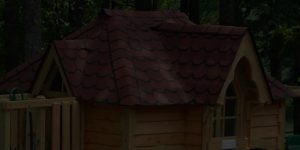 Victorian Playhouse Roof Background