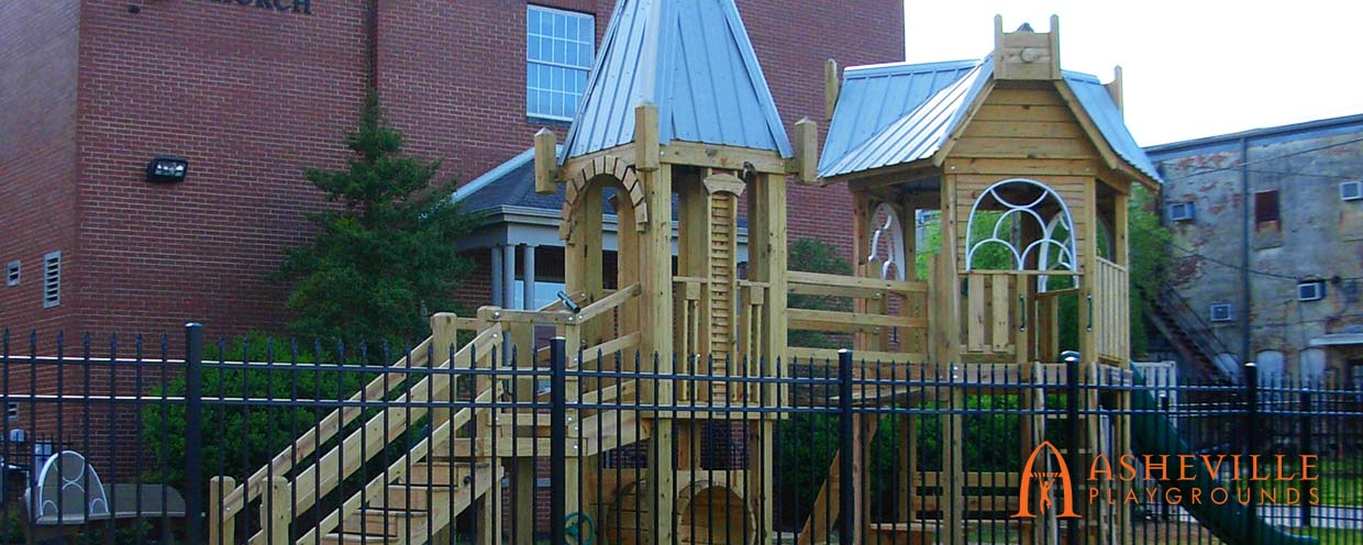 First United Methodist Church Playground in Decatur Alabama - Asheville Playgrounds