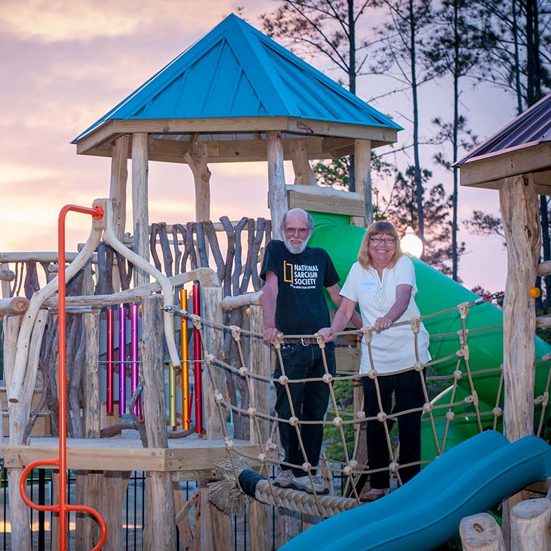 Asheville Playgrounds Owners Jerry Hajek and Evelyn Anderson - About