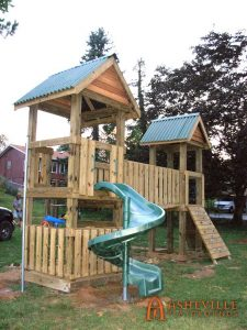 Black Mountain Methodist Church Playground - Asheville Playgrounds