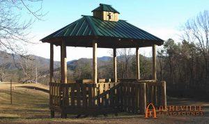 Camp Good News - Religious Retreat Gazebo - Asheville Playgrounds