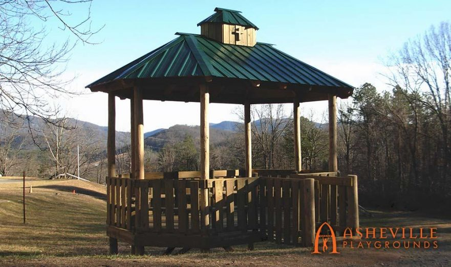 Gazebo at Camp Good News Religious Retreat