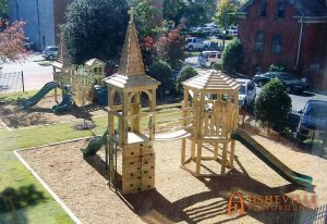 Church of the Nativity Playground in Huntsville - Asheville Playgrounds