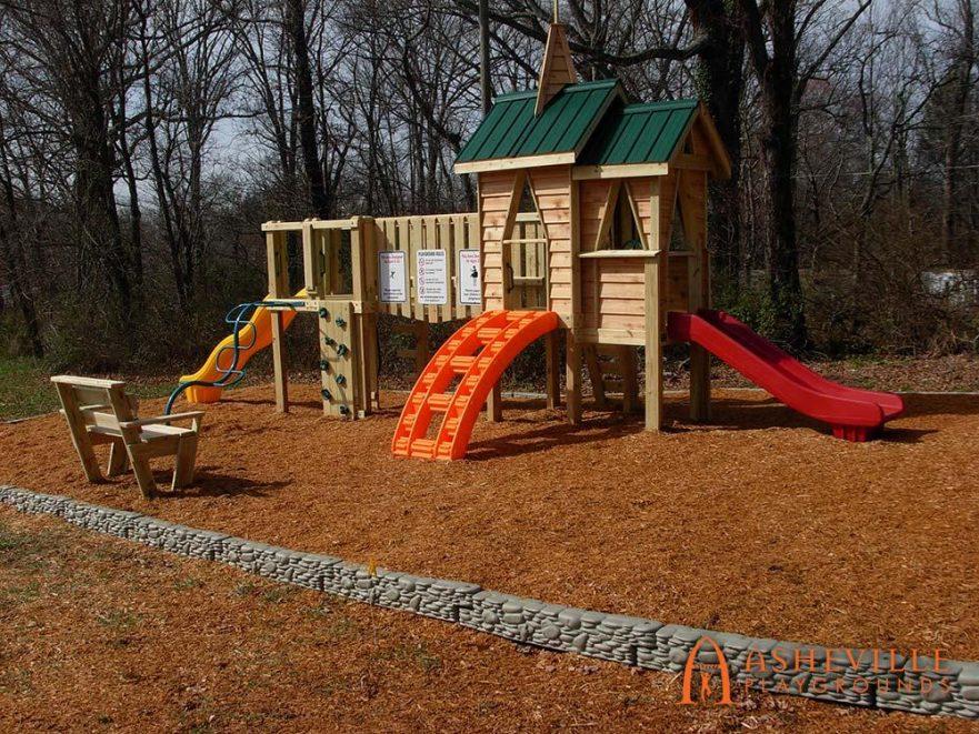 Methodist Church Playground East Asheville NC