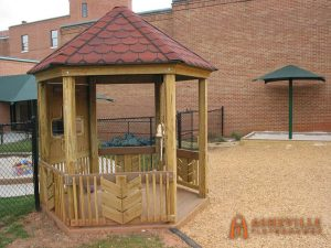 First Baptist Church in Asheville - Dedication Gazebo - Asheville Playgrounds