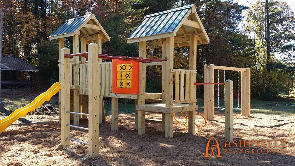 First Baptist Church Playground in Arden