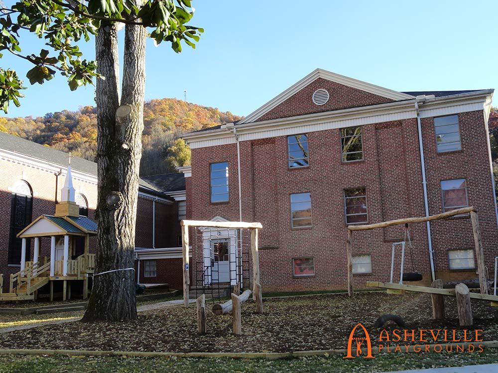First Baptist Church Playground in Sylva