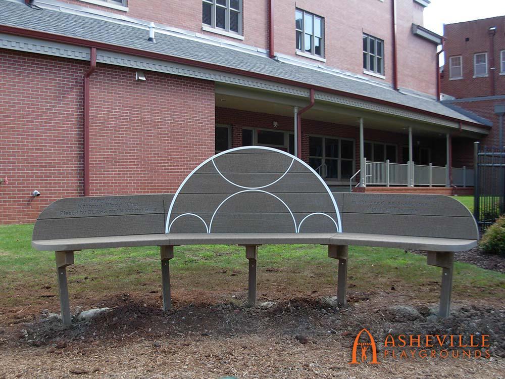 United Methodist Church Memorial Bench