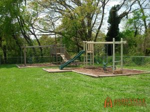 Grace Baptist Church Playground Addition - Asheville Playgrounds