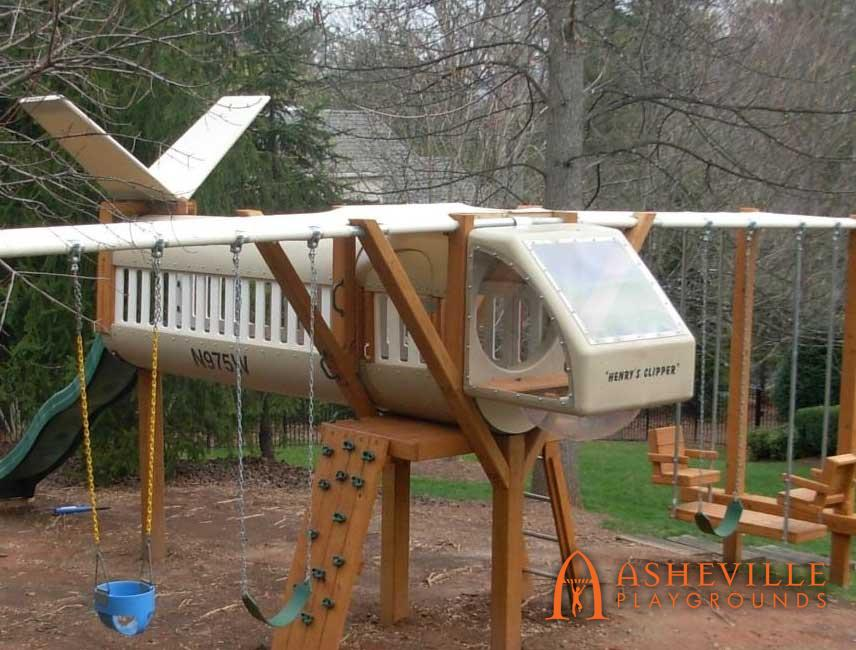 Themed Airplane Playground