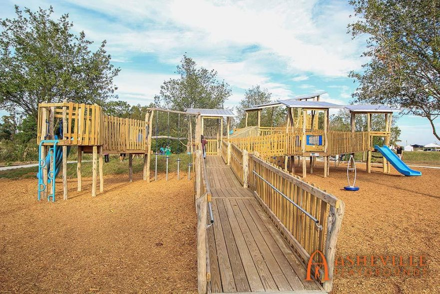 ADA Ramp Bexley Community Playground