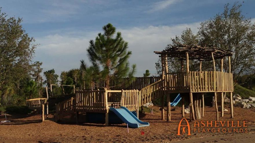 Handicap Accessible Main Decks Playground
