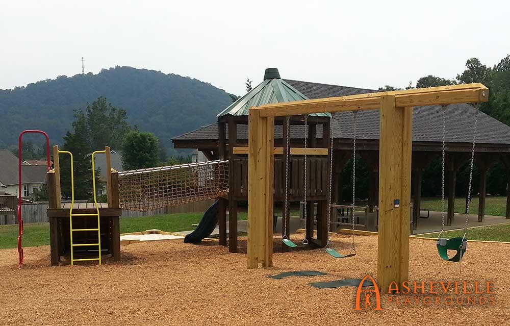 Renovation of subdivision play area
