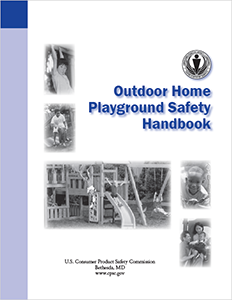 CPSC Home Playground Safety Handbook Cover