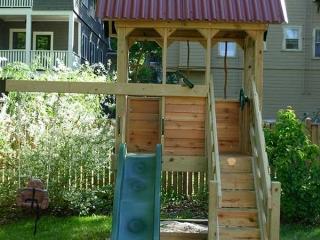 Small Backyard Playfort