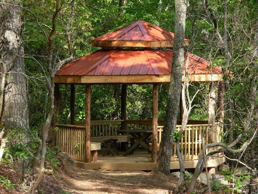Big Beautiful Back Yard Gazebo