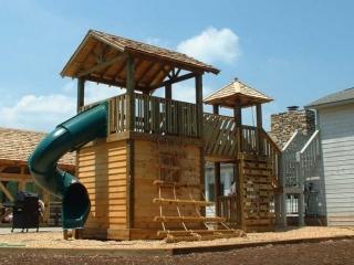 Residential Playground Cedar Lap Roof