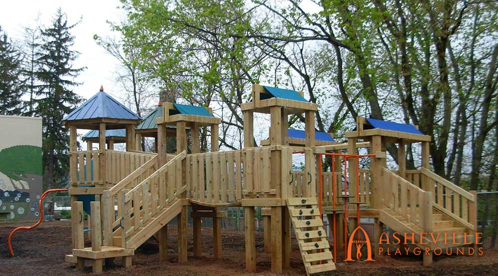 Large Playground for YWCA Asheville
