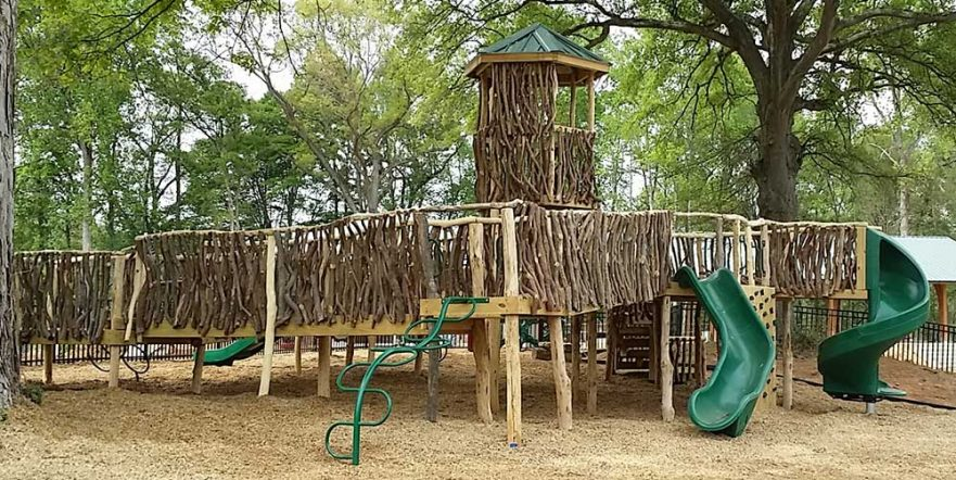 All Log and Laurel Playground