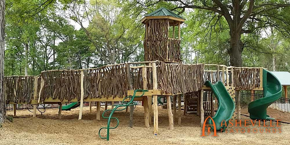All Log and Laurel Playground