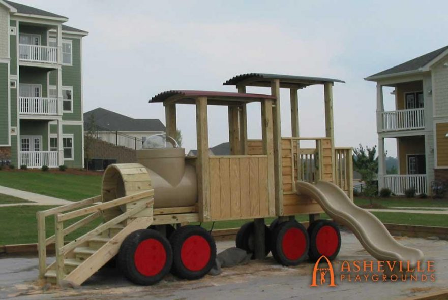 Haven Apartments Train Playground