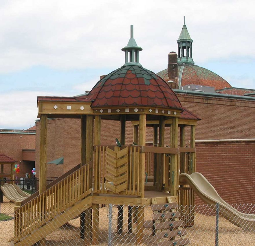 Playground Dome Replica First Baptist Church Asheville