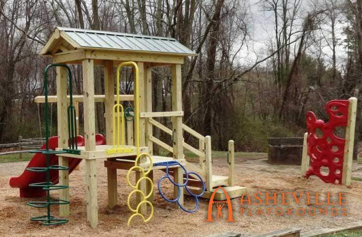 Playset Separate Climber Turtle Creek Apartments