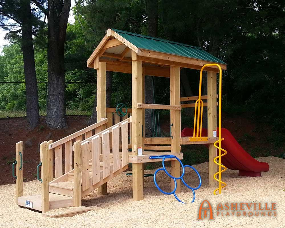 Small Toddler Playground Set Arden NC