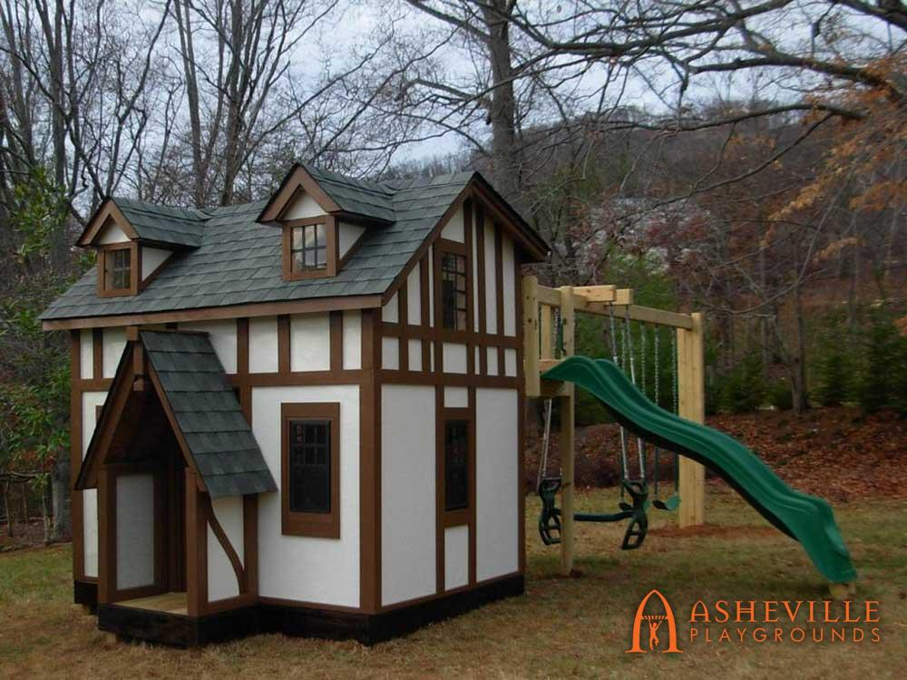 Tudor House Playground Replica