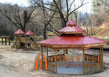 Creekside Picnic Gazebo and Playground Cane Creek NC