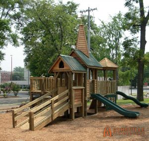 St Johns Episcopal Church Playground in Decatur - Asheville Playgrounds