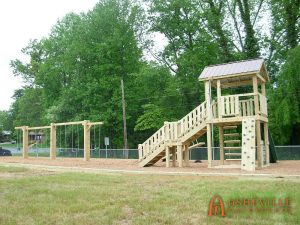 West Hendersonville Baptist Church Playground - Asheville Playgrounds