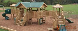 Brush Creek Elementary School Playground in Marshall, NC - Asheville Playgrounds