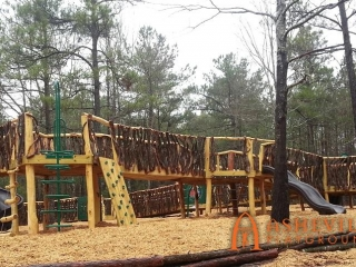 Anderson Creek Park Playground Front View