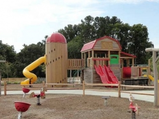 Knightdale Station Park Playground Knightdale NC