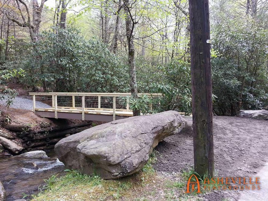 One of a Kind Bridge at Montreat