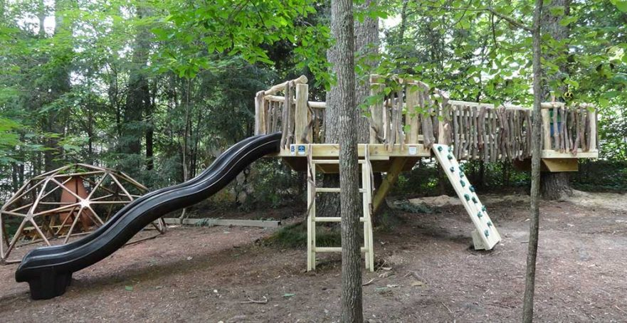 Natural Playground Montessori School Cane Creek