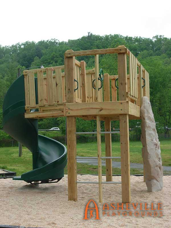 Old Fort Playset Arrowhead Climber