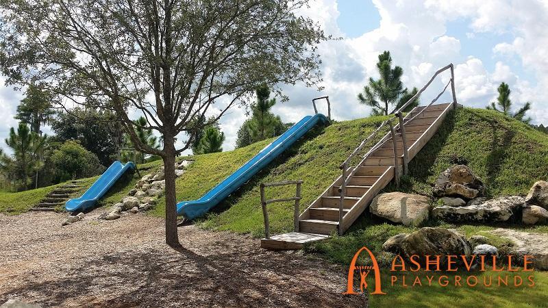 Bexley Development Park 6 Grade Slides
