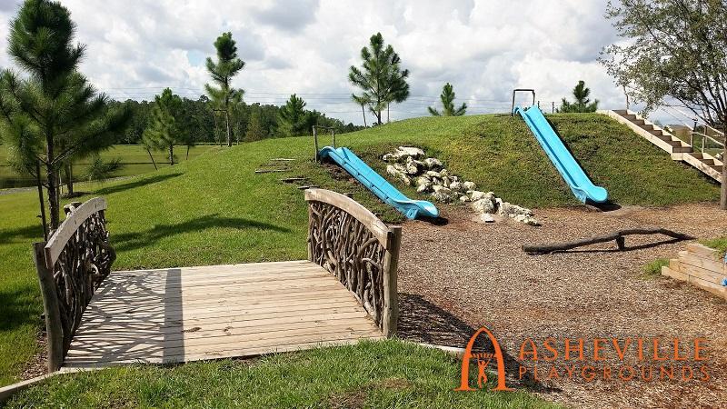 Bexley Developments Park 6 Bridge and Slides
