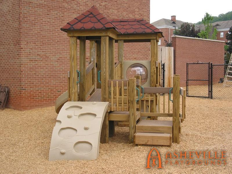 FBCA Toddler Playground Side