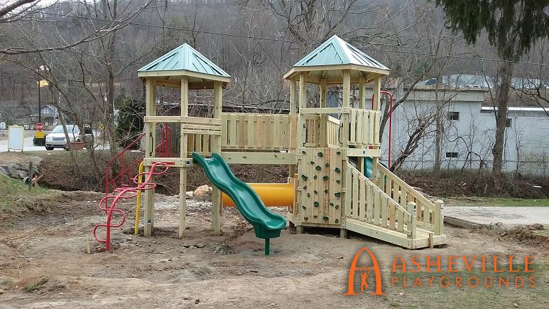 Finished Campground Play Area