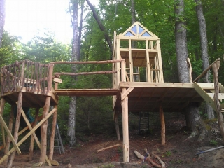 Harms Residential Playground Under Construction 3