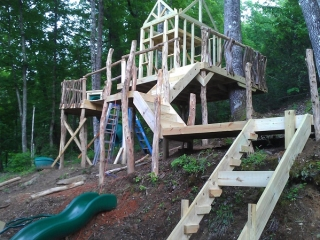 Harms Residential Playground Under Construction 4