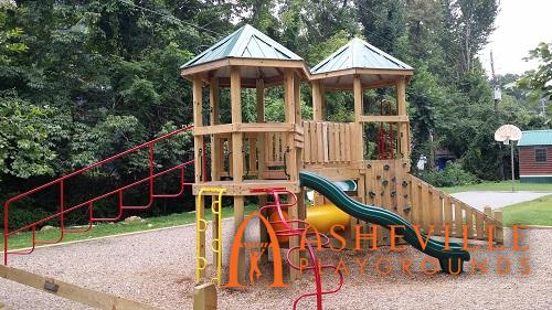 KOA Campground Playground Swannanoa NC