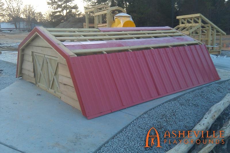 Knightdale Barn Roof Themed Progress 2