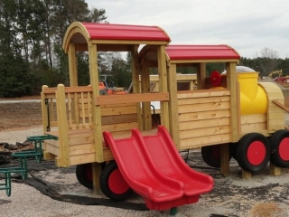 Knightdale themed train