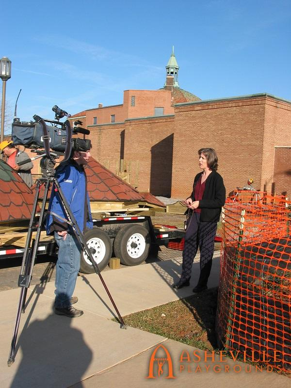 Mary Weber Interviewed on News