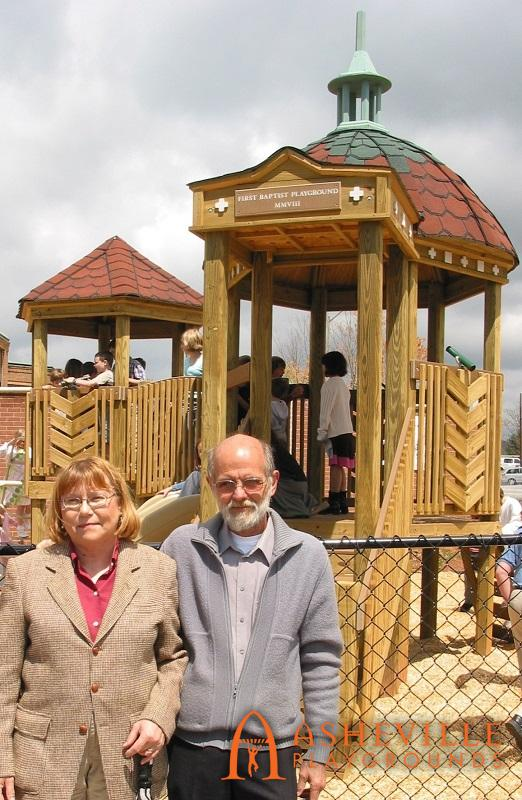 Owners Evelyn and Jerry at FBCA Dedication