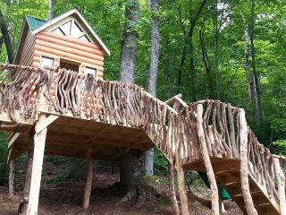 Play Cabin and Stairs